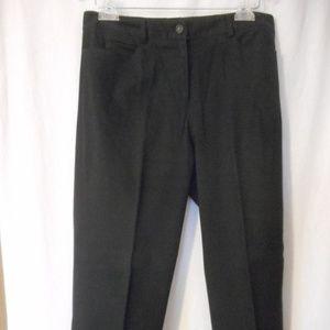 Worth Petites Size 12 Black pants trousers
